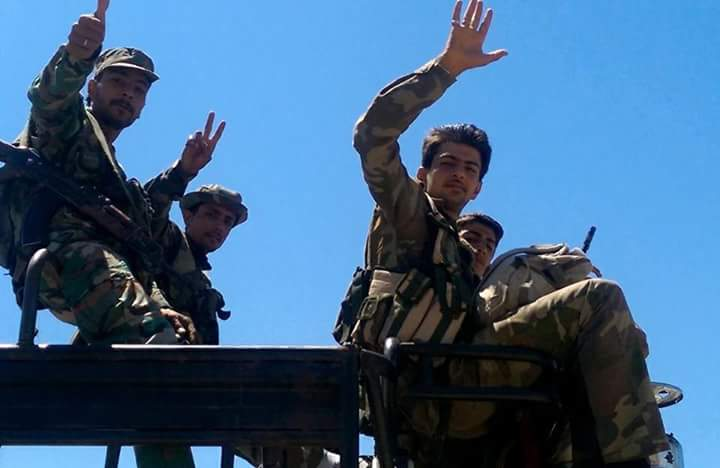 Photo of The Syrian Army establishes control over the village of Manoukh in the countryside of Homs