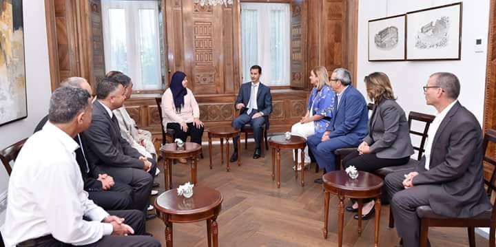 Photo of الرئيس الأسد يستقبل اليوم وفداً برلمانياً
