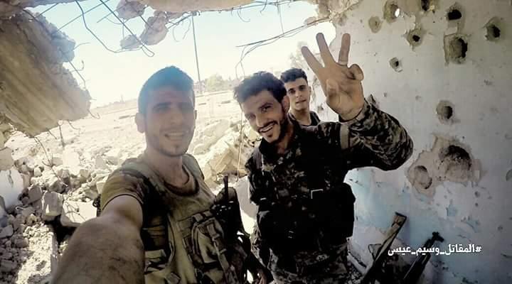 Photo of بالصور- تقدم الجيش بعين ترما