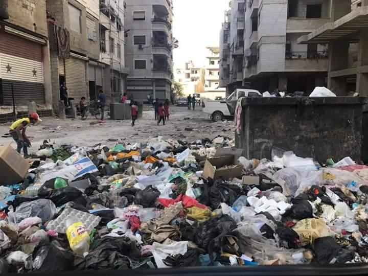 Photo of كشكول… قمامة تعم الطرقات والبلدية في سبات