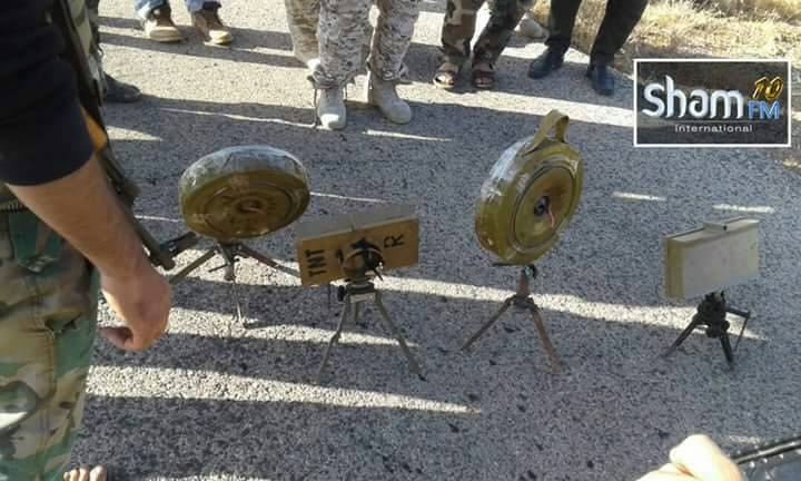 Photo of Army's engineering units dismantle six IEDs planted by terrorists in Sweida countryside