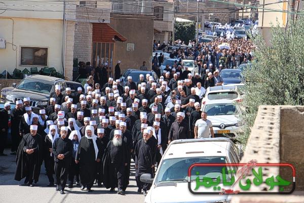 Photo of شكر على تعزية آل ناصر في الجولان المحتل وجبل العرب