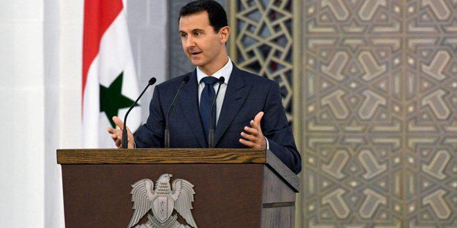 Photo of خطاب النصر للأسد: وحدة الأراضي السورية غير قابلة للنقاش