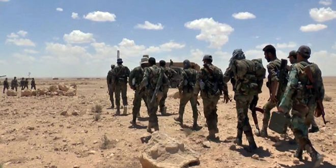 Photo of The Syrian Army regains 4000 km2 within Sweida operation, including 30 km of border line with Jordan