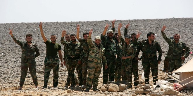 The Syrian Army kills number of terrorists and destroys ISIS vehicles and ammunition in Homs