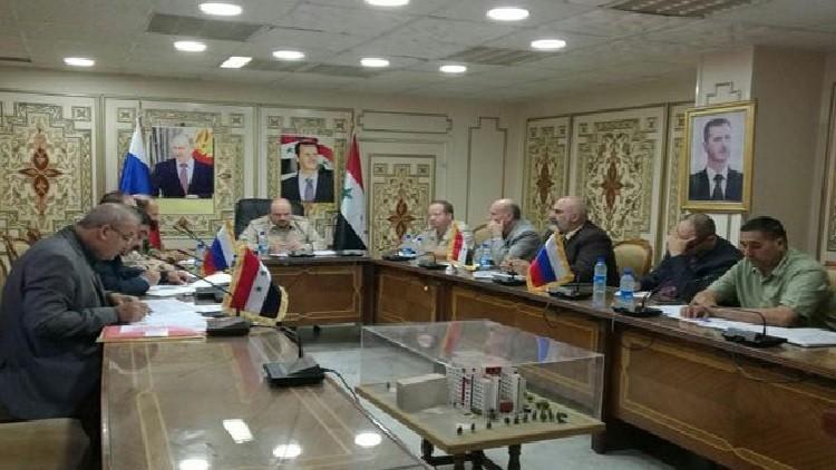 Photo of اجتماع في درعا بين لجان المصالحة الوطنية