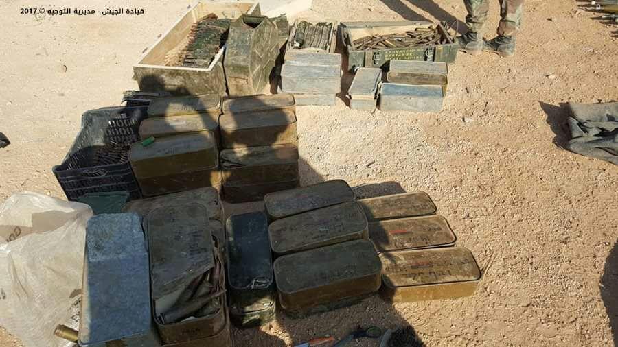 Photo of المقاومة تضبط كميات من الاسلحة بالجرود المحررة من داعش