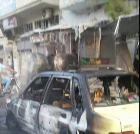 Photo of Two civilians were martyred and 20 others were injured in terrorist attack in Homs
