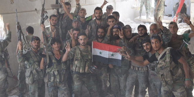 Photo of Syrian Army continues hunting down al-Nusra terrorists in Hama countryside