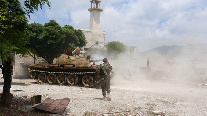 Photo of السيطرة على قرى وتلال جديدة بريف حمص الشرقي