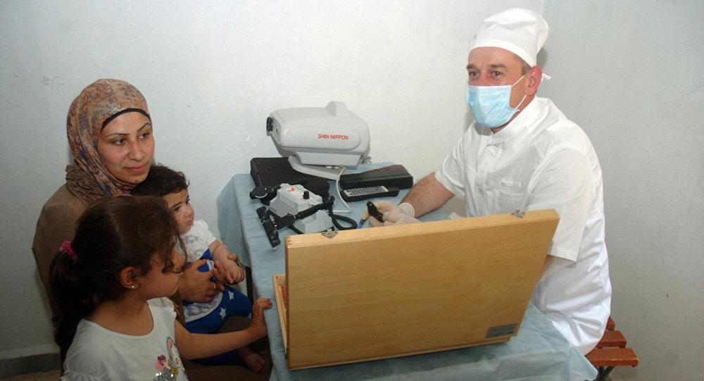 Photo of وصول معدات طبية روسية لدير الزور