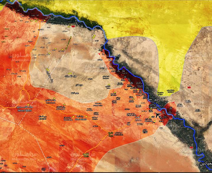 Photo of الجيش يسيطر على 5 قرى جديدة شمال غرب دير الزور