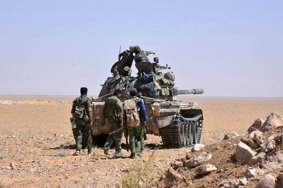 Photo of Syrian Army pursues remaining ISIS terrorists around Regiment 137