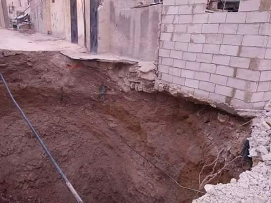 Photo of إخلاء أربعة منازل في المزة 86