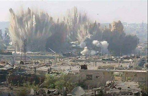 "Photo of ""مجزرة"" بحق ٤٥ شهيداً للجيش بعين ترما"