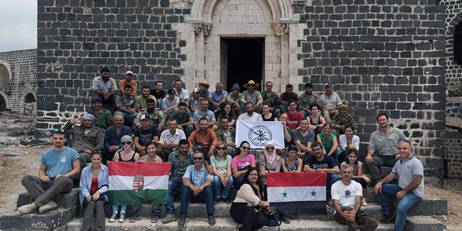 Photo of بعثة سورية هنغارية لترميم قلعتي المرقب والحصن