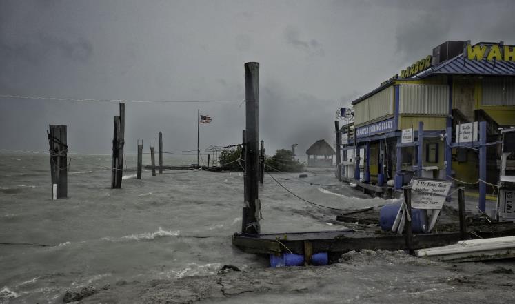 Photo of إعصار إيرما يجتاح فلوريدا بقوة!