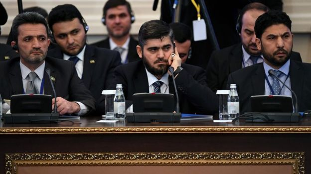 """Photo of المعارضة السورية تدعو """"أموت"""" لمحادثات أستانا !"""