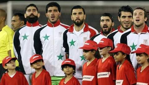 Photo of Minister of Tourism Bishr Yazigi encourages the Syrian team of football