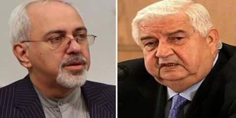 Zarif congratulates al-Moallem on breaking the ISIS siege of Deir Ezzor