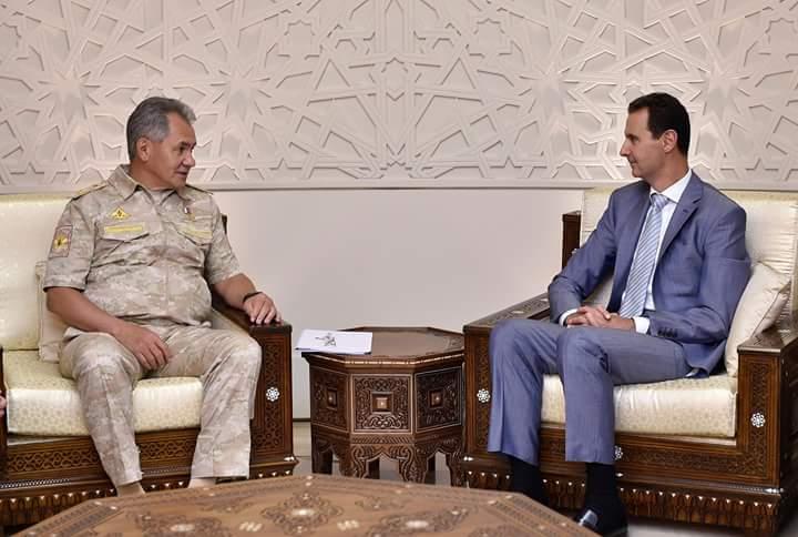 Photo of الأسد يستقبل وزير الدفاع الروسي