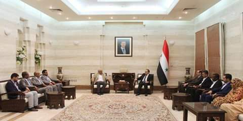 Khamis to Mauritanian parliamentary delegation: Syrian army foiled all bets and conspiracies
