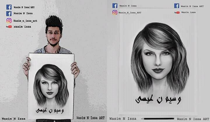 """Photo of الرسام السوري """"وسيم عيسى"""" يتخطى حدود الوطن العربي!"""