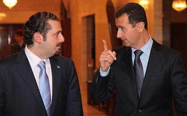 Photo of الحريري يدق باب الرئيس الأسد……؟!