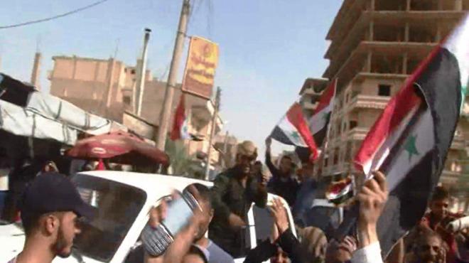 Photo of فرحة أهالي الدير بانتصارات الجيش