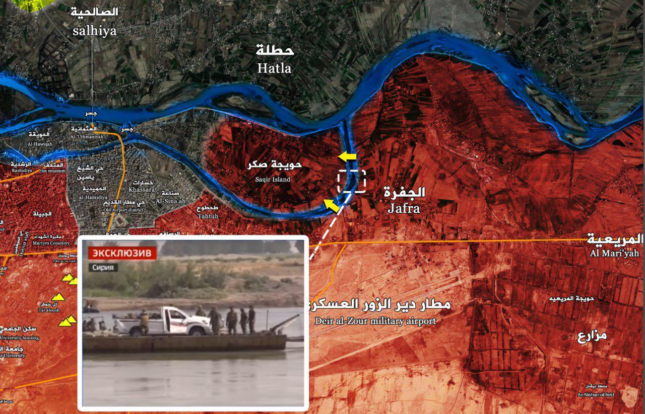 Photo of بالفيديو – الجيش يعبر نهر الفرات في دير الزور