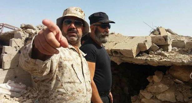 Photo of العميد غسان طراف يقود معارك دير الزور خلفاً للشهيد زهرالدين