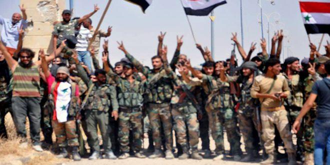 """Photo of """"حويجة صكر"""" بقبضة الجيش العربي السوري"""