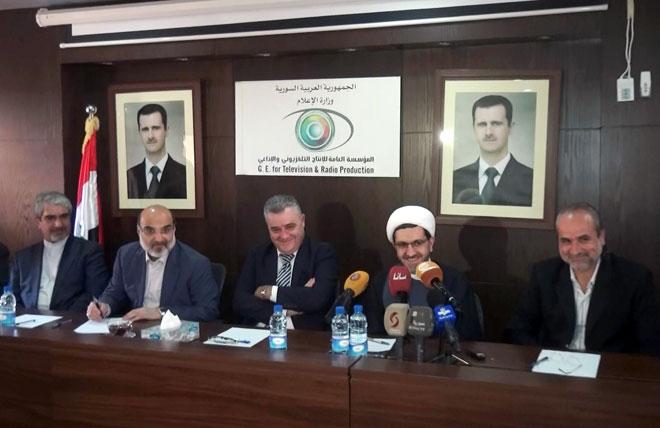 "Photo of تعاون ""سوري – إيراني"" بمجال الإعلام"