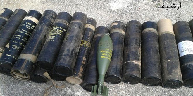 Photo of Syrian Army finds Israeli-made weapons in Jib al-Jarrah and Salamyieh Countryside