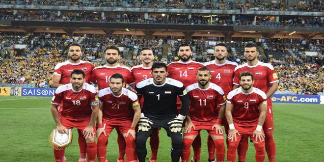"""Photo of """"فيفا"""" يشيد بمنتخب سوريا"""
