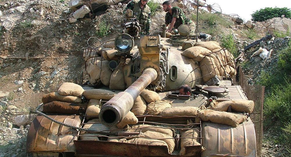 Photo of الجيش يطوق مدينة القريتين بريف حمص الشرقي