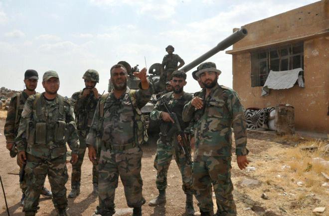 Photo of الجيش يسيطر على الحسينية غرب دير الزور