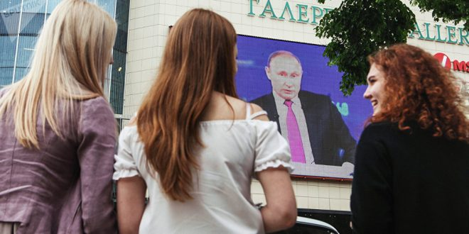 Photo of بوتين لا يستبعد فوز امرأة في الانتخابات الروسية المقبلة