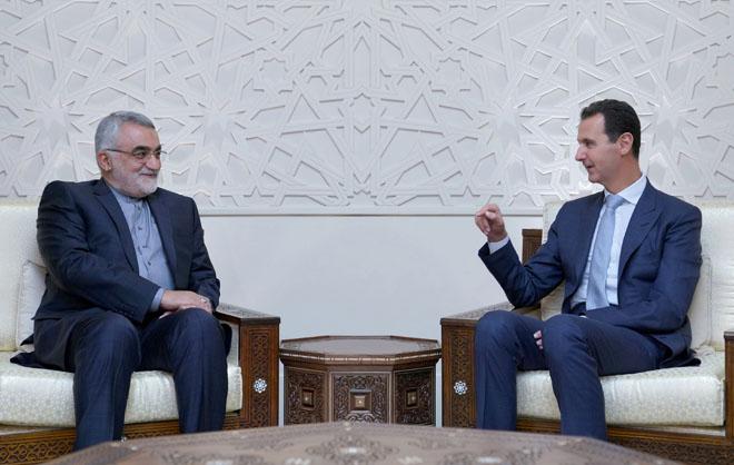 Photo of الأسد يستقبل بروجردي ويؤكد على أهمية التعاون الاقتصادي