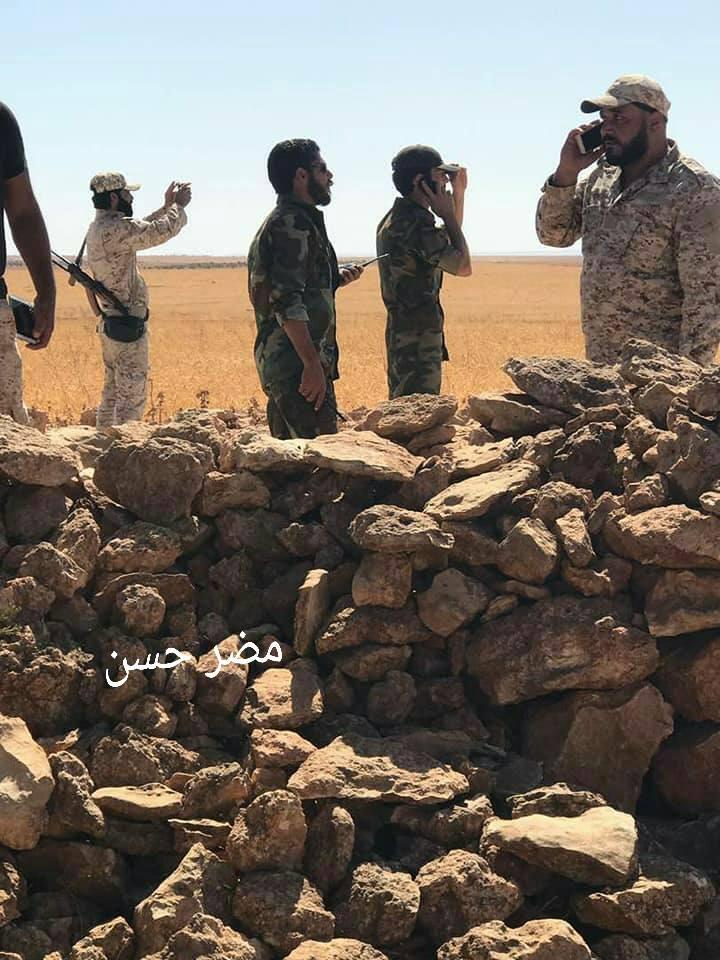 "Photo of الجيش يحرر بلدة ""أبو حنايا"" بريف السلمية"