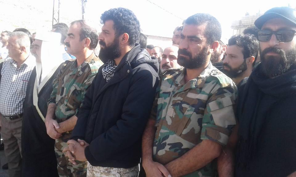"""Photo of تكريم لروح اللواء """" عصام زهر الدين"""" بقلعة جندل"""