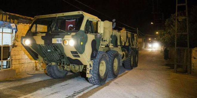 Photo of دخول أول رتل للجيش التركي إلى ريف حلب الغربي