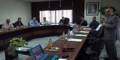 Photo of Al-Qadiri,  European NGOs delegation discuss joint cooperation
