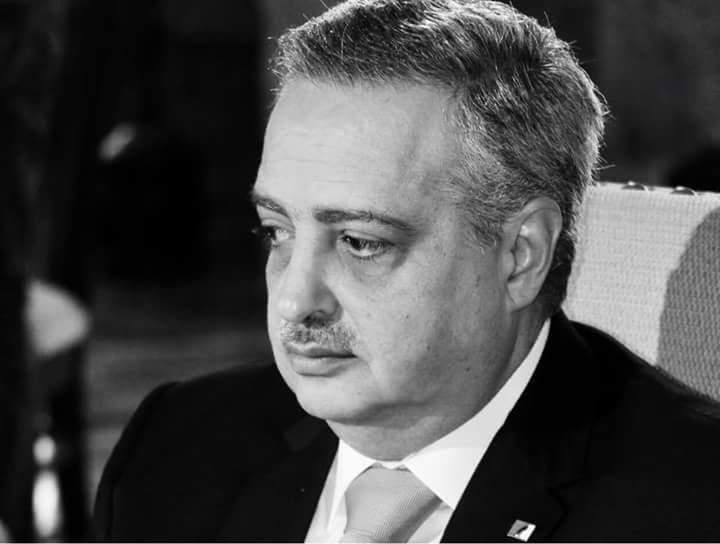 Photo of أرسلان ينعي الشهيد البطل العميد عصام زهر الدين