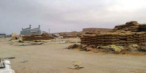 Photo of Thousands of tons of stolen wheat and fertilizers found at ISIS hideouts in Deir Ezzor countryside