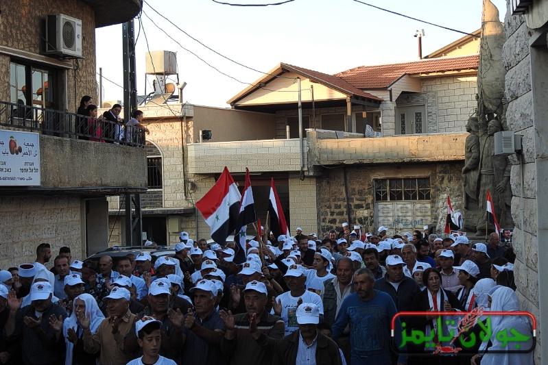 Photo of مسيرة شموع في بقعاثا بمناسبة مرور اسبوع على استشهاد الشهيد البطل عصام زهر الدين