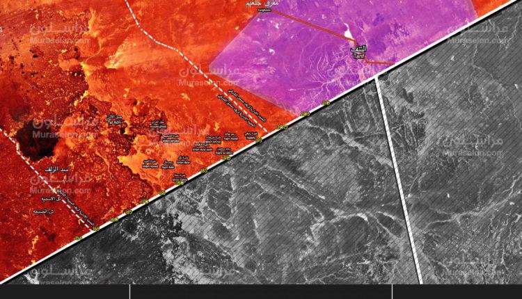 Photo of بالخريطة || الجيش يسيطر على كامل ريف دمشق الشرقي جنوب التنف