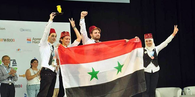 Photo of Syria ranks second in World Robot Olympiad final in Costa Rica