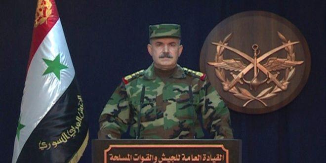 Photo of قيادة الجيش تعلن تحرير البوكمال