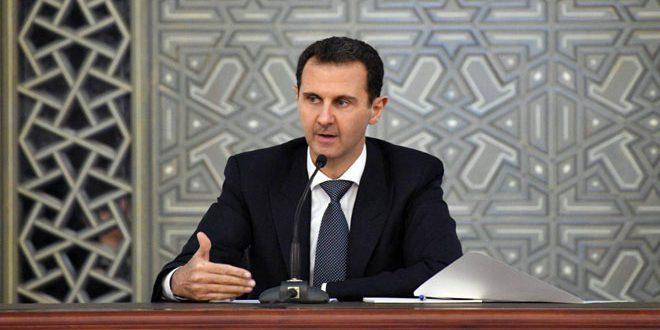Photo of الأسد: الهدف الأساسي من الحرب ضرب الشعور القومي